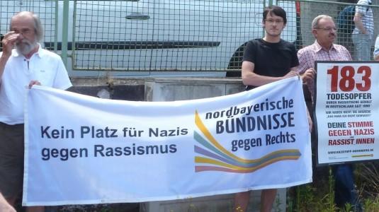 Victor Rother, Mitglied im Sprecherrat des Landkreisbündnis gegen Rechts Weißenburg-Gunzenhausen