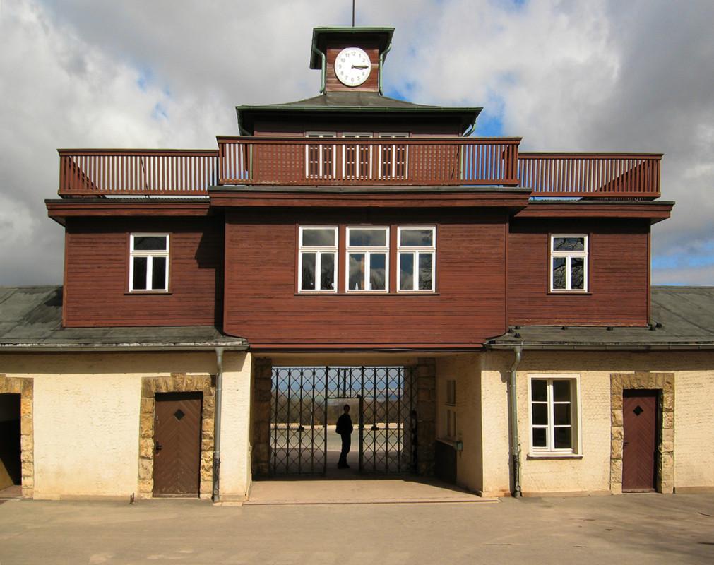 Buchenwald--KZ-Tor