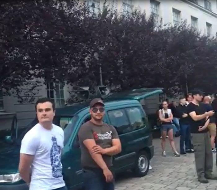 Über 200 Ansbacherinnen und Ansbacher stellten sich den Neonazis entgegen