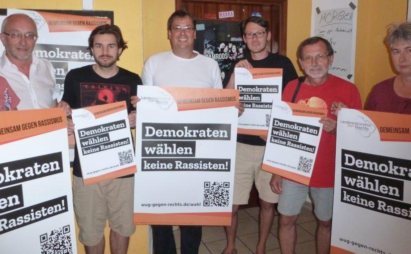Demokraten wählen keine Rassisten! – Kampagne zur Bundestagswahl 2017